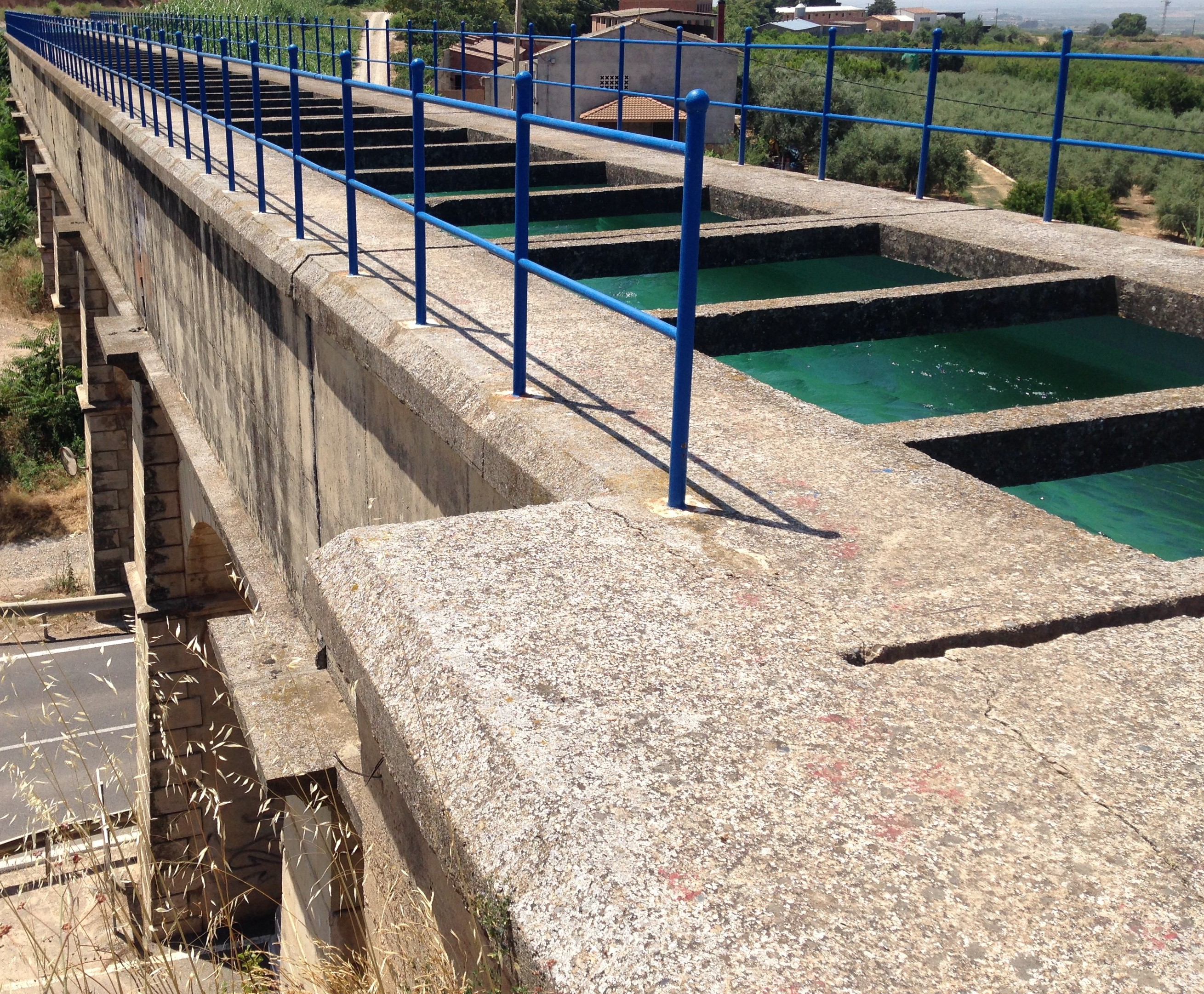 Smart Engineering begins the study of two structures from the Aragon and Cataluña Canal: Coll del Foix and Capdevil aqueducts