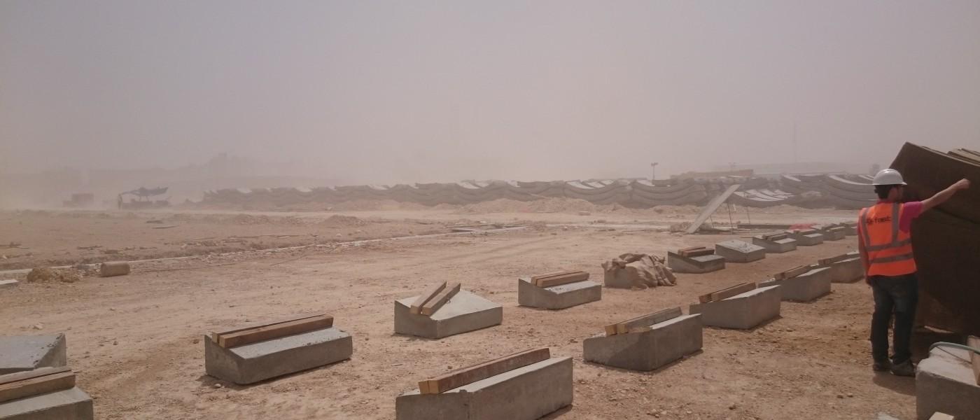 Smart Engineering dóna suport a FCC en la tecnologia de dovelles i del formigó aplicats al clima extrem de Ryiadh