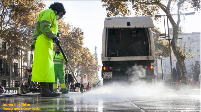 Smart Engineering to develop cleaning solutions for urban pavements