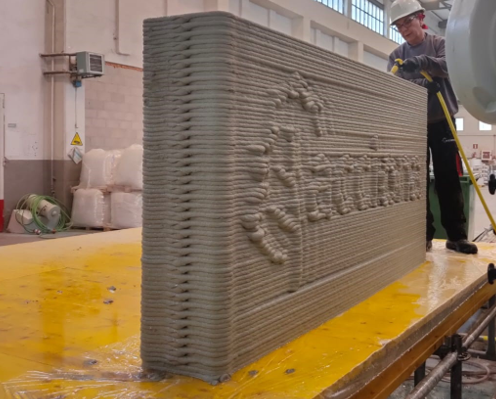 ACCIONA and Smart Engineering renew their collaboration in the field of 3D concrete printing.