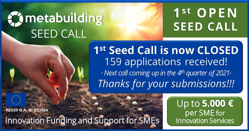 """Smart Engineering galardonada en la 1ª convocatoria del METABUILDING PROJECT """"Seed Call"""""""